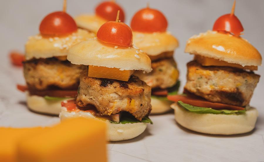 Chicken Burger (12 pieces)