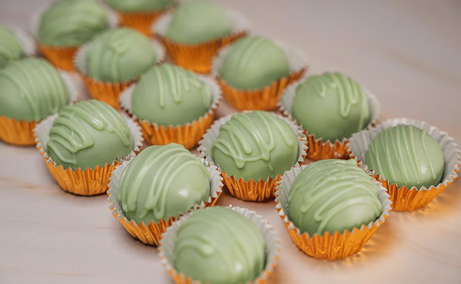 Pistachio Cake Pops