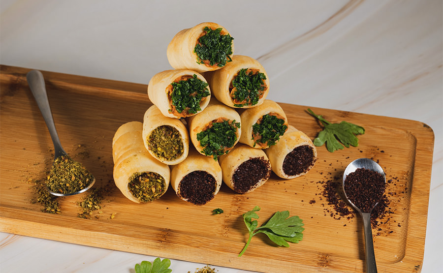 Cone With Filling Varieties (12 pieces)
