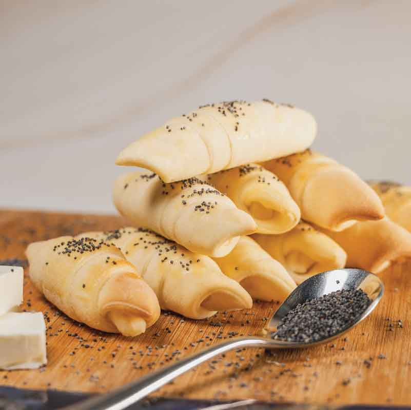 Croissant With Filling Varieties (12 pieces)