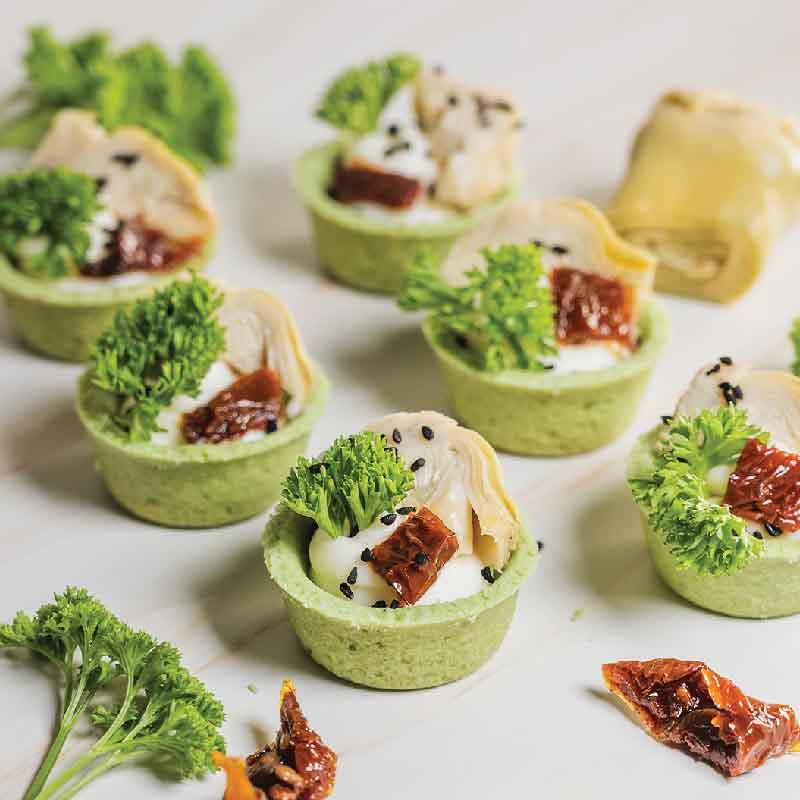 Artichoke Tart (12 pieces)