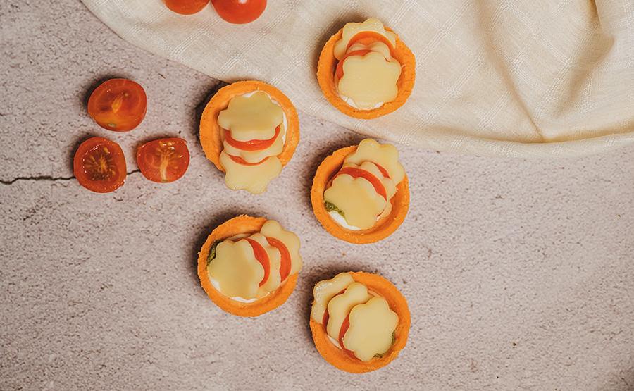 Mozzarella Tart (12 pieces)