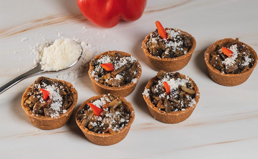 Mushroom Tart (12 pieces)