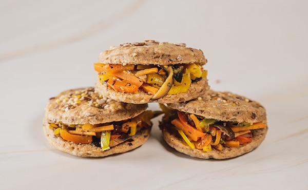 Grilled Vegetables Sandwich (12 pieces)