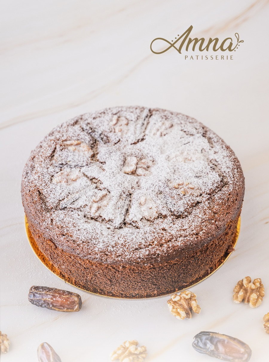Whole Dates Cake With Caramel (Small)