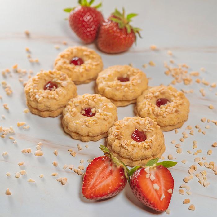 Jam Sandwich Biscuit (250g)