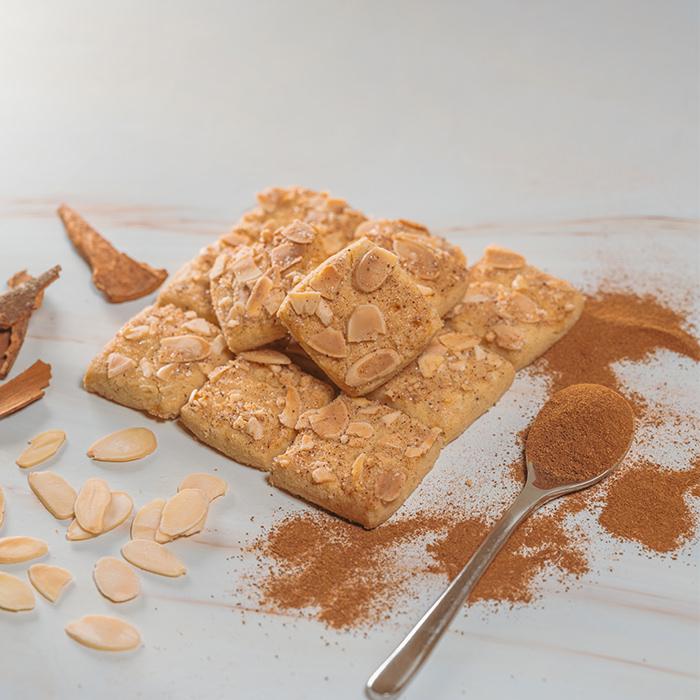 Cinnamon And Almond Slice