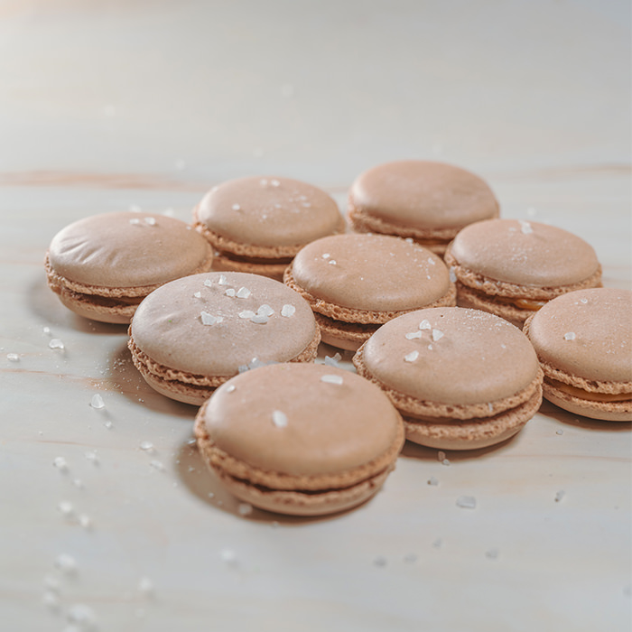 Caramel Macarons (15pcs)