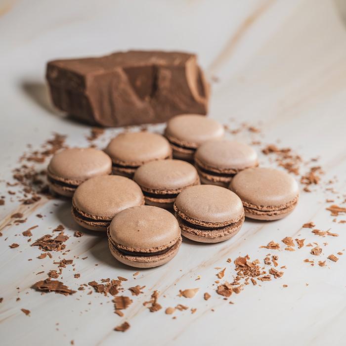 Chocolate Macarons (15pcs)